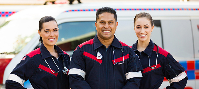 How can I start a career in ems?